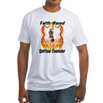 Spiritual Counselor Fitted T-Shirt