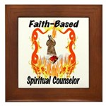 Spiritual Counselor Framed Tile