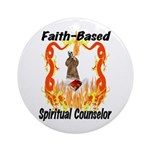 Spiritual Counselor Ornament (Round)