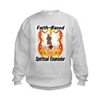 Spiritual Counselor Kids Sweatshirt