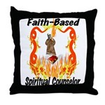 Spiritual Counselor Throw Pillow