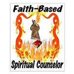 Spiritual Counselor Small Poster