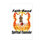 Spiritual Counselor Rectangle Sticker