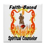 Spiritual Counselor Tile Coaster