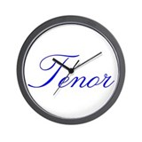 Tenor Wall Clock