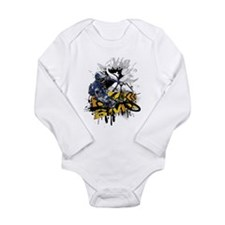 BMX Underground Long Sleeve Infant Bodysuit