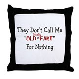Farting Throw Pillow