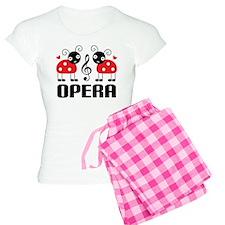 Opera Music Ladybug Women's Light Pajamas