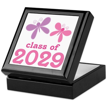 2029 Girls Graduation Keepsake Box