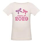 2029 Girls Graduation Organic Baby T-Shirt