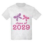 2029 Girls Graduation Kids Light T-Shirt