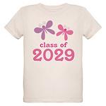 2029 Girls Graduation Organic Kids T-Shirt