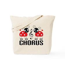 Chorus Music Gift Ladybug Tote Bag