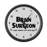Brain Surgeon Gamer Large Wall Clock