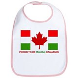 Proud to be Italian Canadian Bib