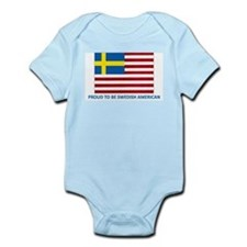 Swedish American Infant Bodysuit