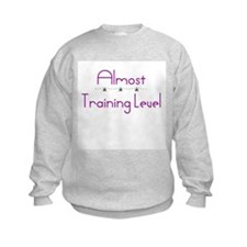 Dressage Almost Training Level  Sweatshirt