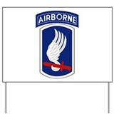 173rd airborne Yard Signs