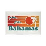 Bahamas Rectangle Magnet