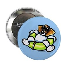 "Funny Beagle 2.25"" Button"