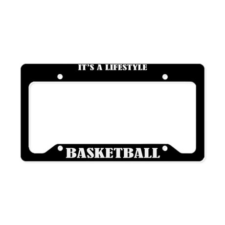Basketball Sports License Plate Holder Frame