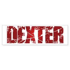 [Red] Dexter Bumper Sticker