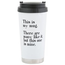 This one is mine. Ceramic Travel Mug