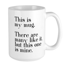 This one is mine. Mug