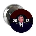 Obama 2012 Dark Colors Campaign Button