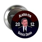 Alaska for Barack Obama button