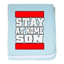 Stay at home baby blanket