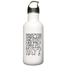 Monkey and Hat Water Bottle