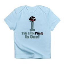 Pirate 1st Birthday One Yr Infant T-Shirt