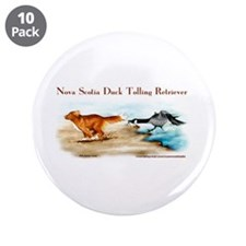 "Toller 3.5"" Button (10 pack)"