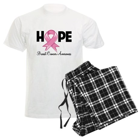 Hope Ribbon Men's Light Pajamas