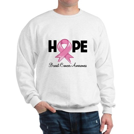 Hope Ribbon Sweatshirt