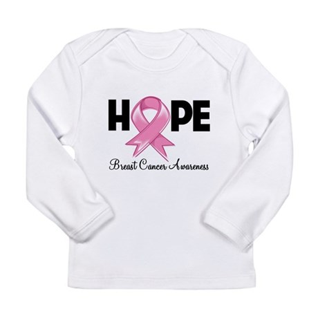Hope Ribbon Long Sleeve Infant T-Shirt