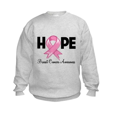 Hope Ribbon Kids Sweatshirt