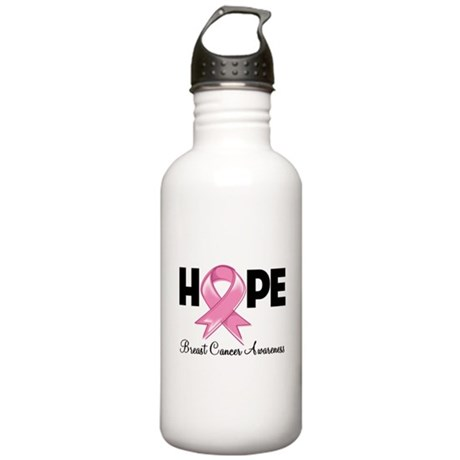 Hope Ribbon Stainless Water Bottle 1.0L
