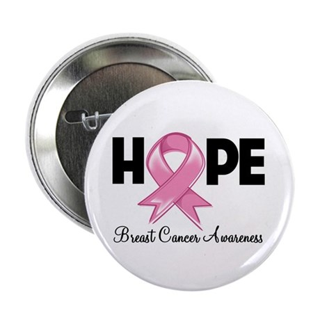 "Hope Ribbon 2.25"" Button"