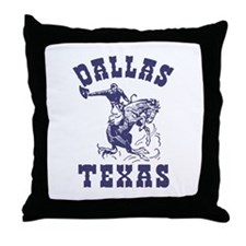 Dallas Texas Throw Pillow