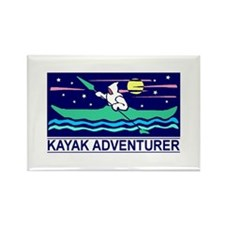 Kayak Adventurer Magnet