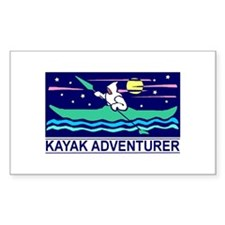 Kayak Adventurer Vinyl Decal