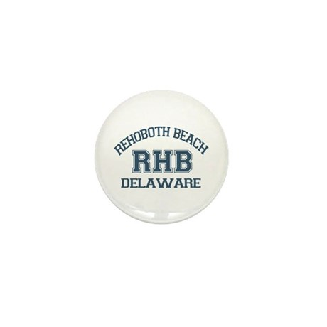 Rehoboth Beach - Varsity Design Mini Button