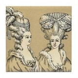 French Vintage Tile Coaster
