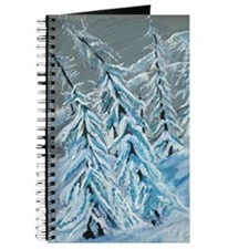 Skiing Through The Trees Journal