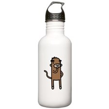Concentrating Monkey Water Bottle