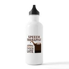 Speech Therapist (Funny) Water Bottle