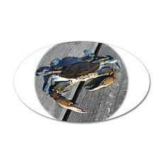 Ooh crab! 22x14 Oval Wall Peel