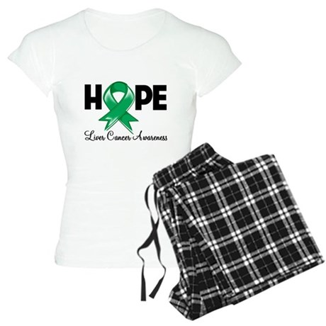 Hope Liver Cancer Women's Light Pajamas